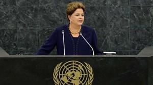 La presidenta de Brasil ante la ONU.