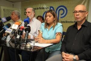 Periodistas venezolanos - CNP